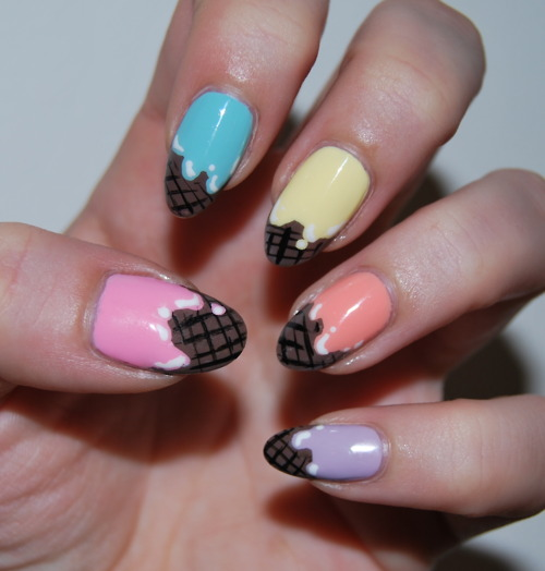 Ice Cream Nails: 301 Moved Permanently